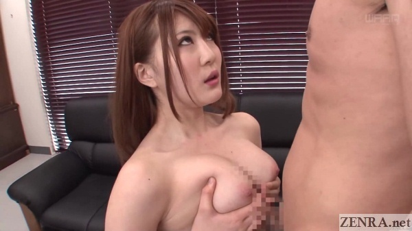 perfect japanese titjob by momoka nishina