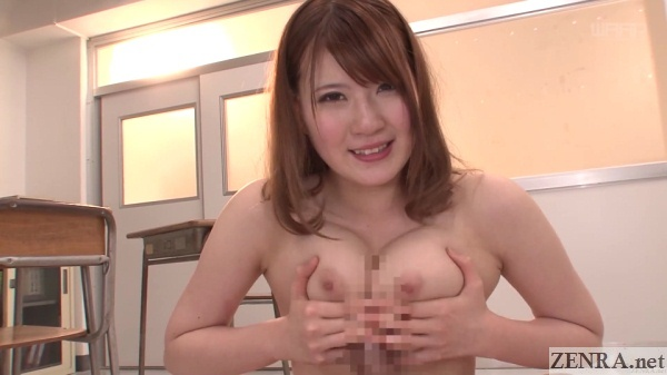 pov titjob in classroom by teacher momoka nishina