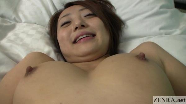 close up busty perky nipples yuu shiraishi