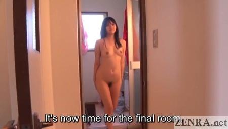stark naked mai tamaki walking towards camera