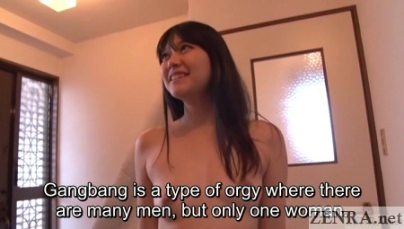 gangbang explained to stark naked and surprised tamaki mai