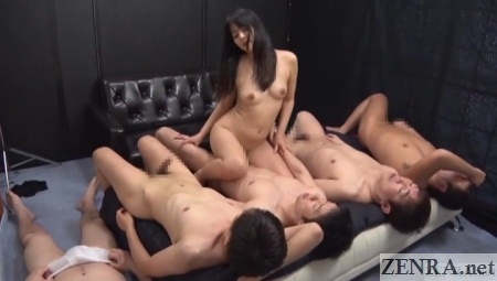 japanese gangbang cowgirl sex lineup