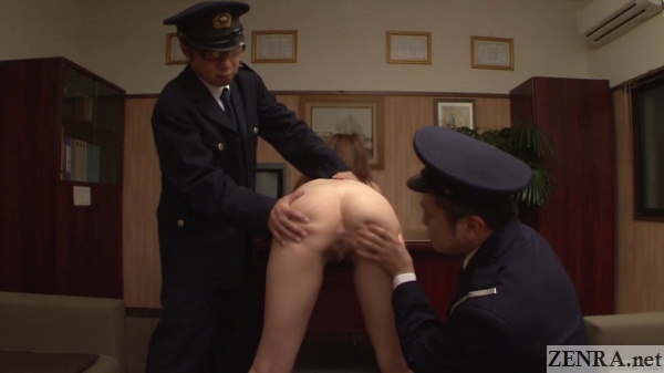 cmnf japanese woman spread for anal inspection