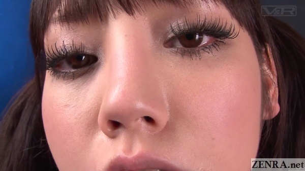 close up mizuna rei after blowjob