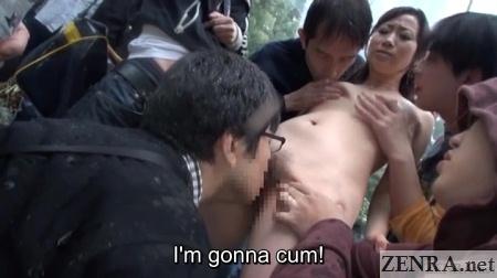 cmnf cunnilingus makes yuu kawakami cum in public