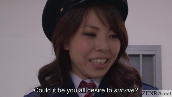 female warden mari yamaguchi