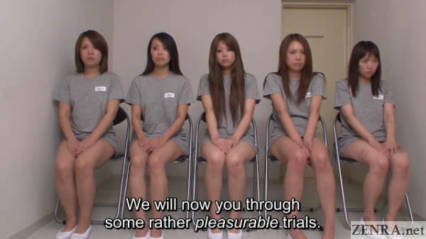 female inmates at the japanese secret prison