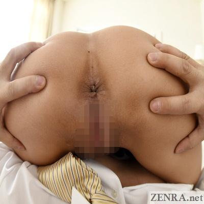 maruyama reona spread butt close up jav vr