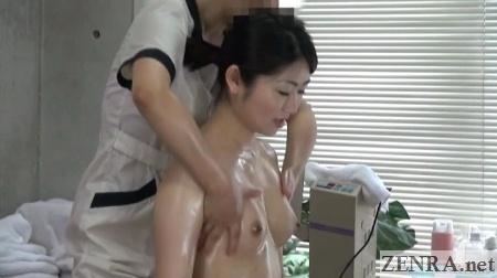 japanese bust up lesbian oil massage