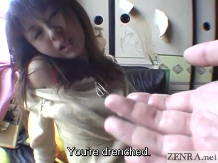 extremely wet unfaithful japanese wife in rundown apartment