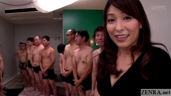 kasumi kaho with army of juice men
