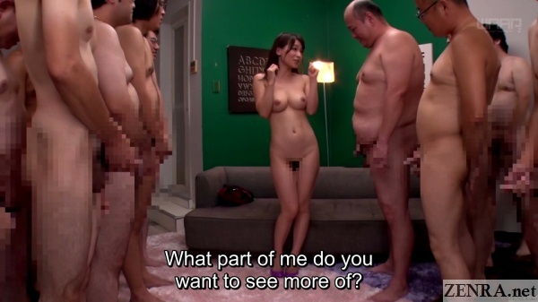 perfect body stark naked kaho kasumi with masturbating audience