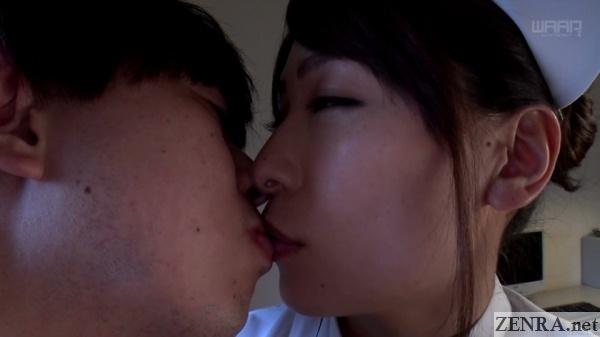 kaho kasumi kisses patient