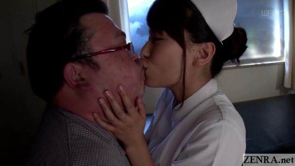 kaho kasumi kisses festively plump patient