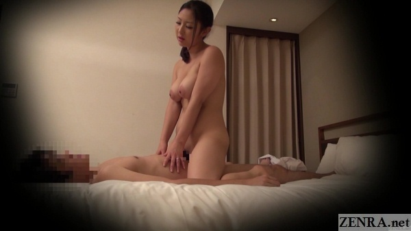 busty and curvy japanese masseuse sex with client