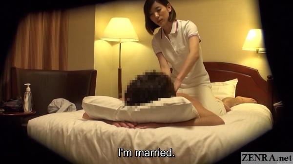 prone japanese hotel oil massage