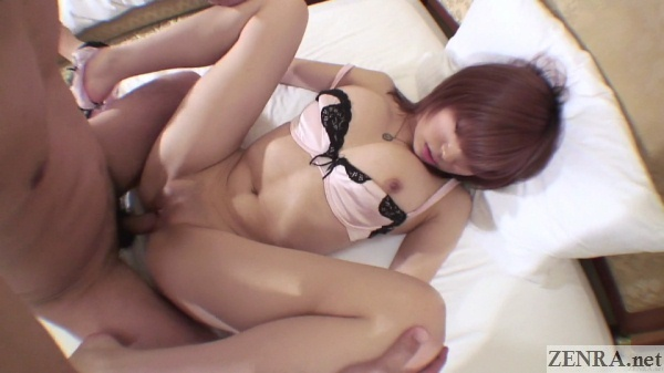 spread eagle japanese paipan uncensored missionary sex