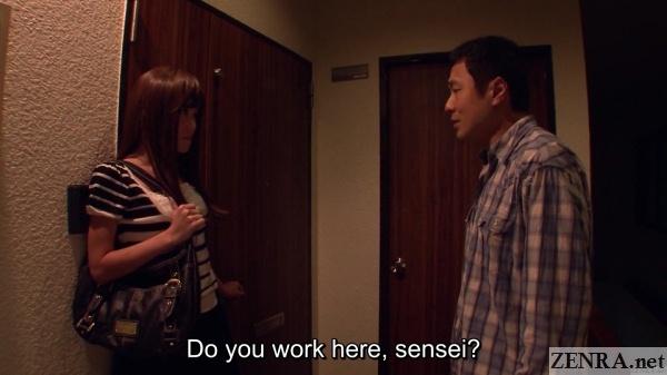 student confronts japanese prostitute teacher
