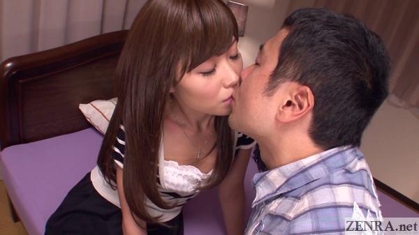 first kiss between japanese teacher and student