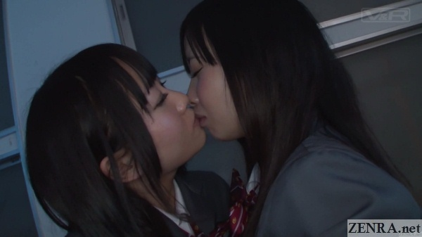 kissing japanese schoolgirls yuri jav