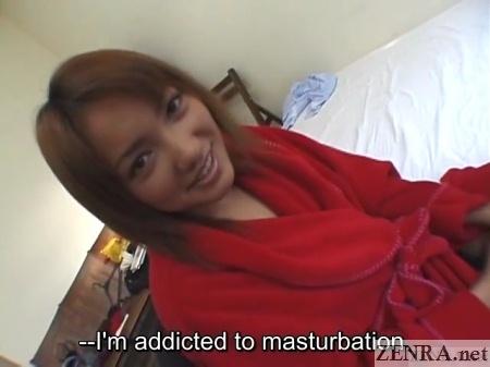 mako umino naked under red robe