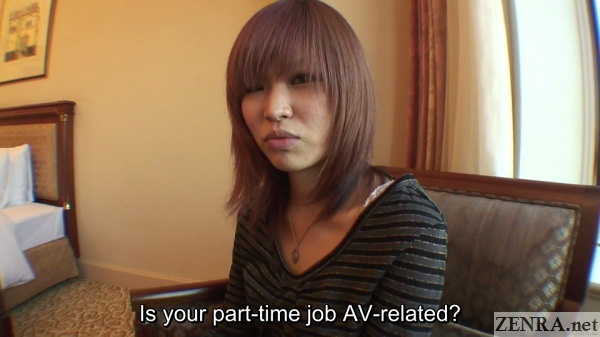 japanese woman asked about av gigs
