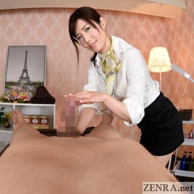 jav vr cfnm handjob massage clinic