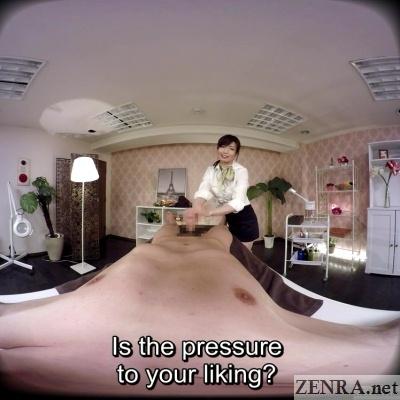 cfnm jav vr massage handjob clinic