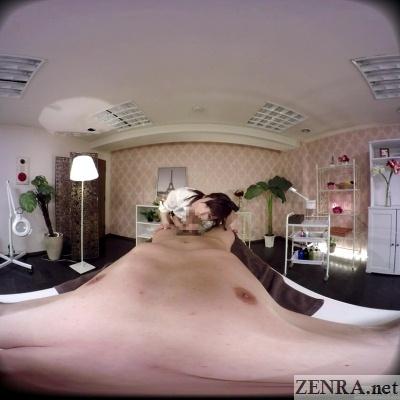 jav vr cfnm blowjob massage clinic yuki seijou