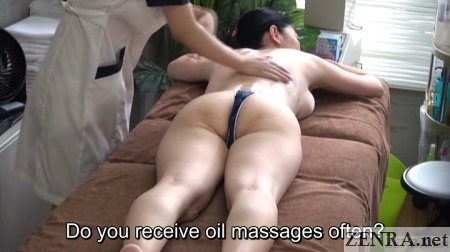 face down mature japanese massage