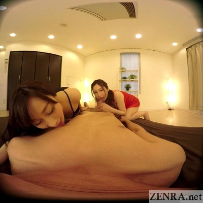 japanese wives threesome oral foreplay jav vr