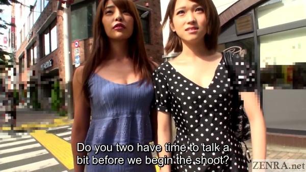 outdoor interview sora shiina nanako tsukishima