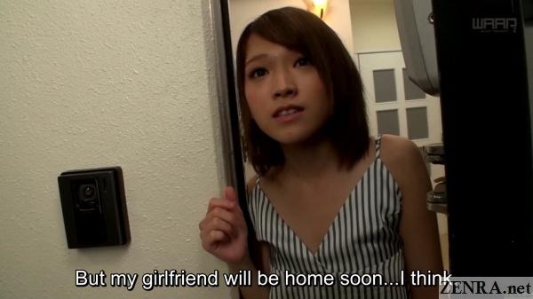 visiting jav star sora shiina at home