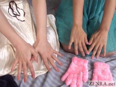 beautiful japanese hands