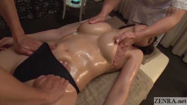 erotic japanese oil massage for asahi mizuno