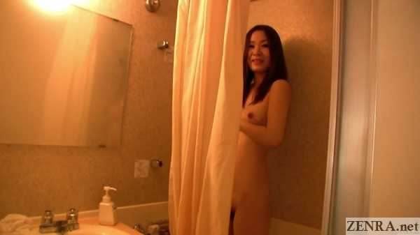showering pale japanese amateur