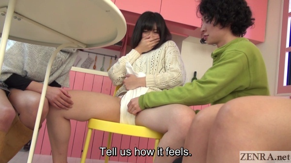 makeshift fundoshi on embarrassed spread jav amateur