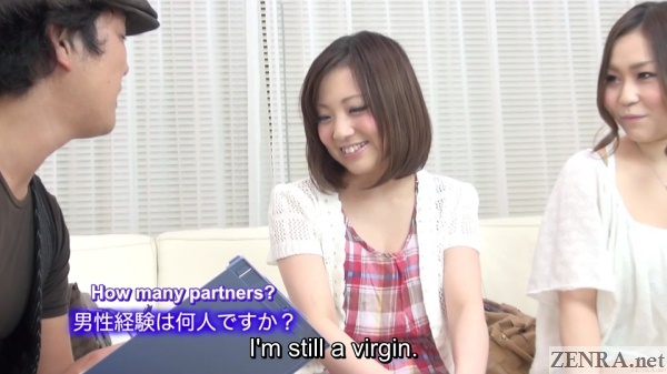 japanese amateur admits she is a virgin