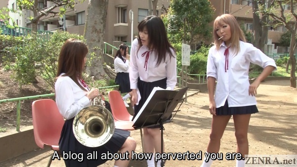 outdoor japanese band practice