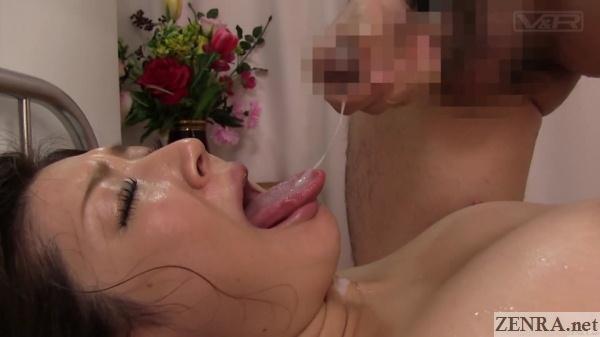 cumshot into mouth jav nurse mari hosokawa