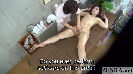 cfnf jav lesbian massage vagina stimulation course overhead view