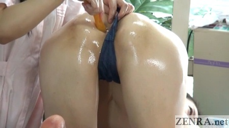 conical device jav anus massage clinic