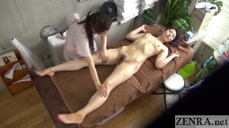 overhead cfnf oiled up japanese massage