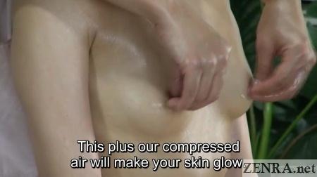 close up japanese lesbian nipple massage