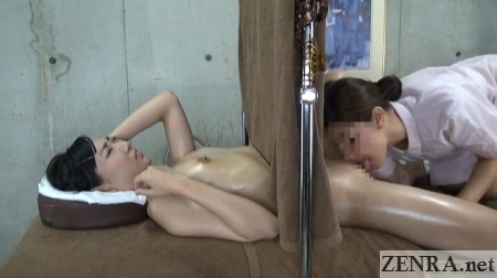 oiled up japanese amateur lesbian oral sex massage