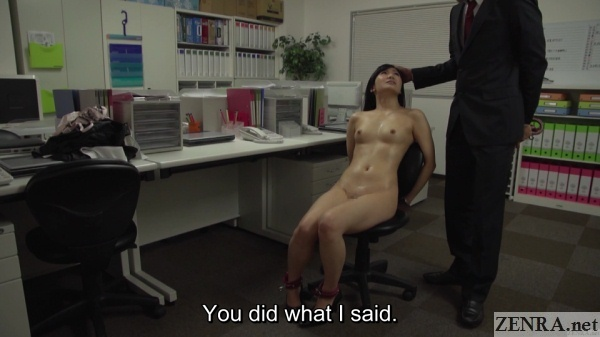 cmnf bound naked jav office lady with master