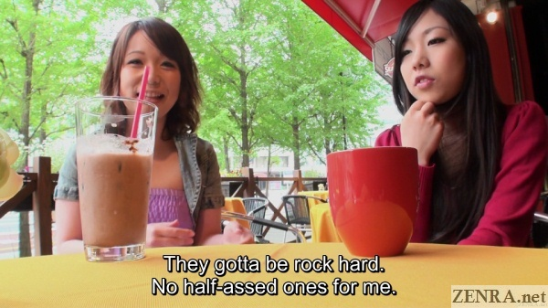 japanese amateurs talk about ideal dick sizes