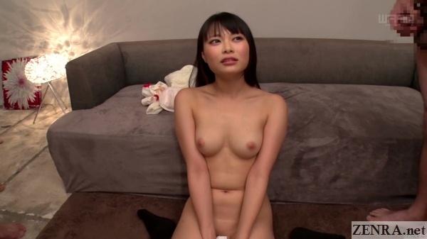 stark naked natsume airi looks at juice men