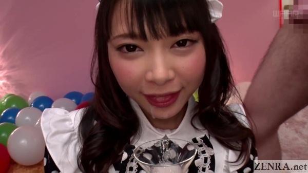 cum on face japanese maid