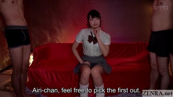 natsume airi schoolgirl final gokkun party